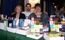 Hank with his book acquisition editor, Lisa Biello at the F.A. Davis booth in 2007 selling his award winning ECG book!!
